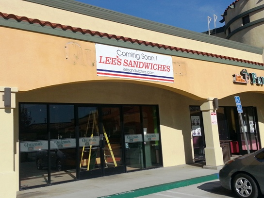 Lee's Sandwiches is Coming Soon to Torrance
