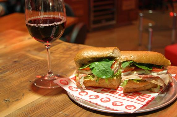 Capi's special sandwich