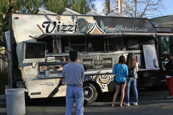 In case you didn't know, Vizzi is listed in Zagat's top 10 food trucks in LA!