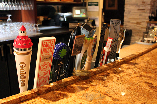 On Tap at Brewster's inside Four Points by Sheraton, Los Angeles International Airport.