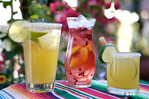Award winning margaritas and sangria