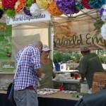 The World Empanadas booth