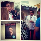 Scott Conant, known for his commentary on Food Network's Chopped, was on hand to talk secret ingredients.