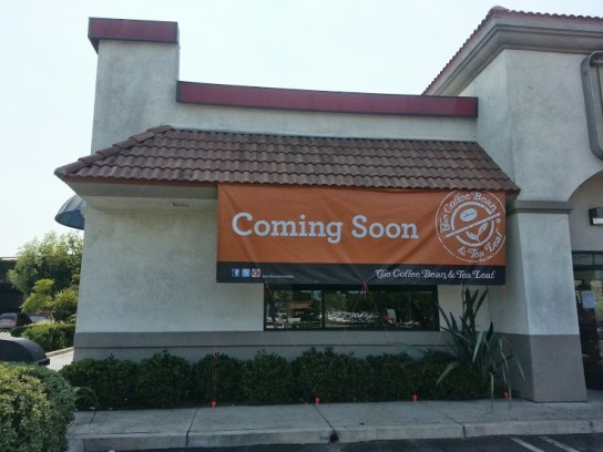 Coffee Bean and Tea Leaf Coming Soon to Torrance