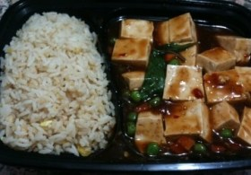 Mandarin Kitchen mapo tofu