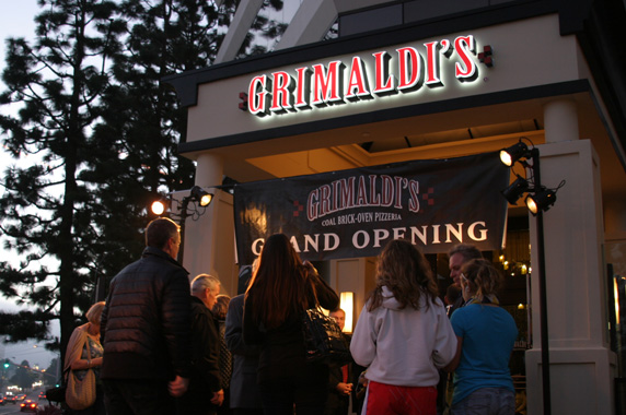 Entrance to Grimaldi's Pizzeria