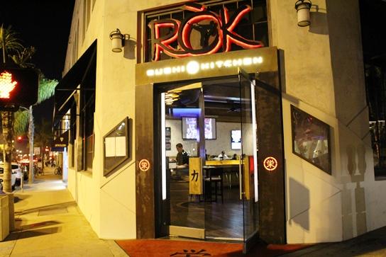 ROK Sushi Front Door