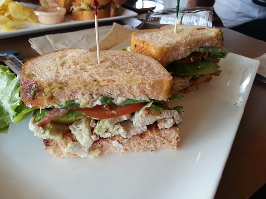 3 Roast Turkey and Avocado BLT-South Bay Foodies