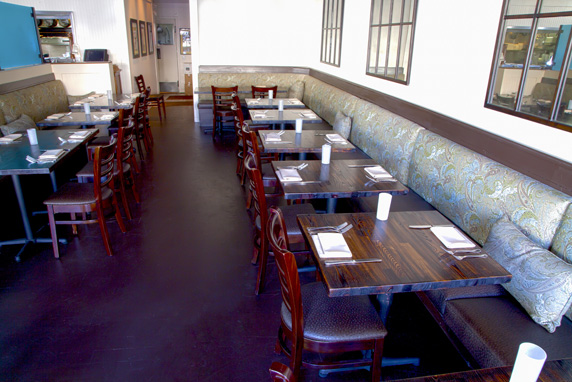The new interior to Darren's Restaurant