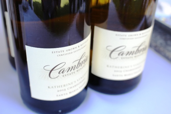 Wines from Cambria Estate Winery.