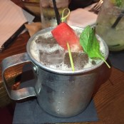 El Bronco - a fruit forward version of the Moscow Mule