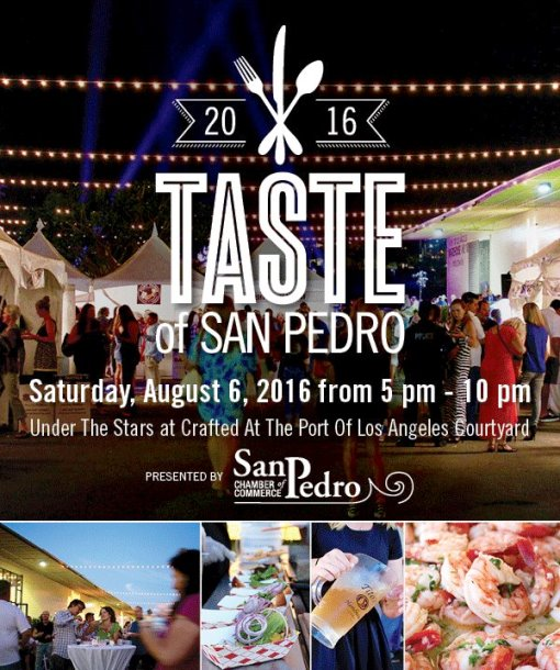 The Taste of San Pedro is a great opportunity to sample the best of LA's peninsula.