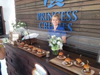 Princess Cruises and their burger