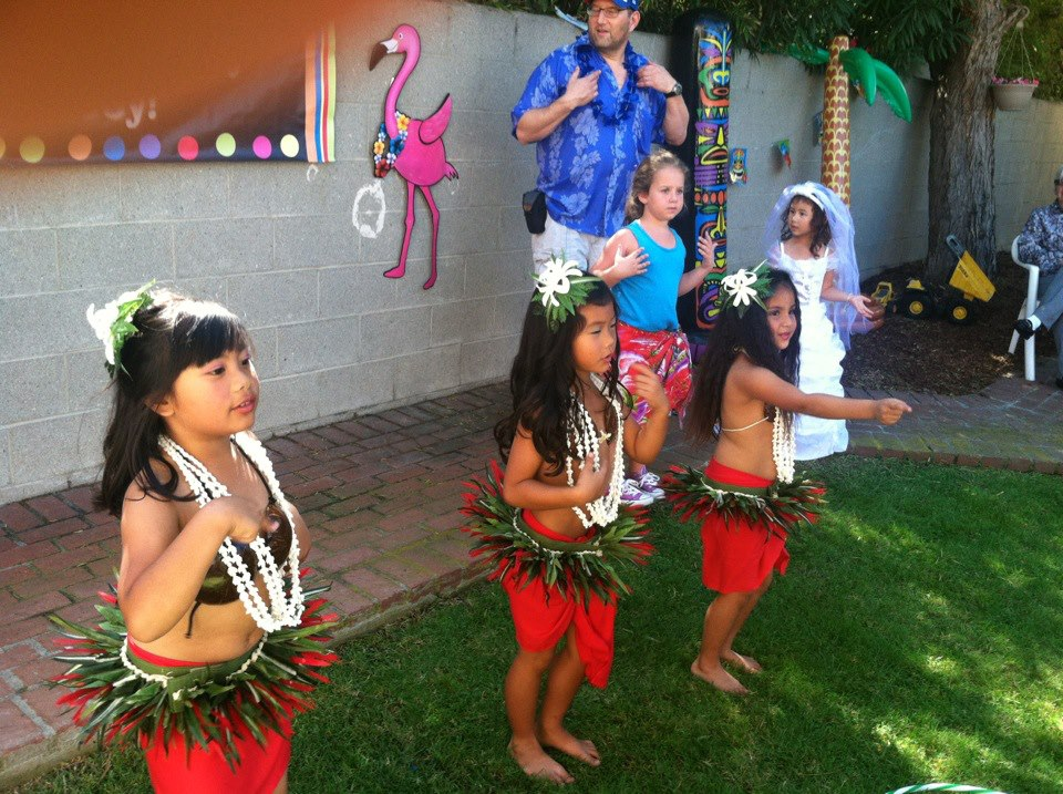Hula Kids Party Deluxe