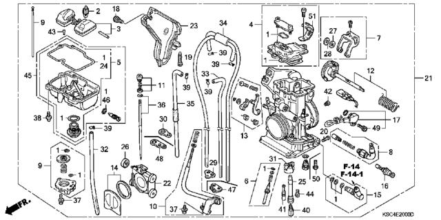 Honda Crf250r Dirt Bike Engine Diagram. Honda. Auto Fuse