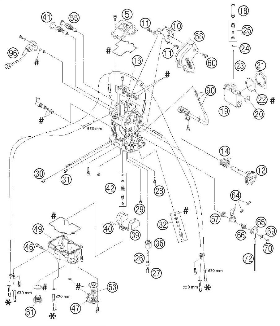 50cc Carb Diagram 150Cc Carburetor Diagram ~ Elsavadorla