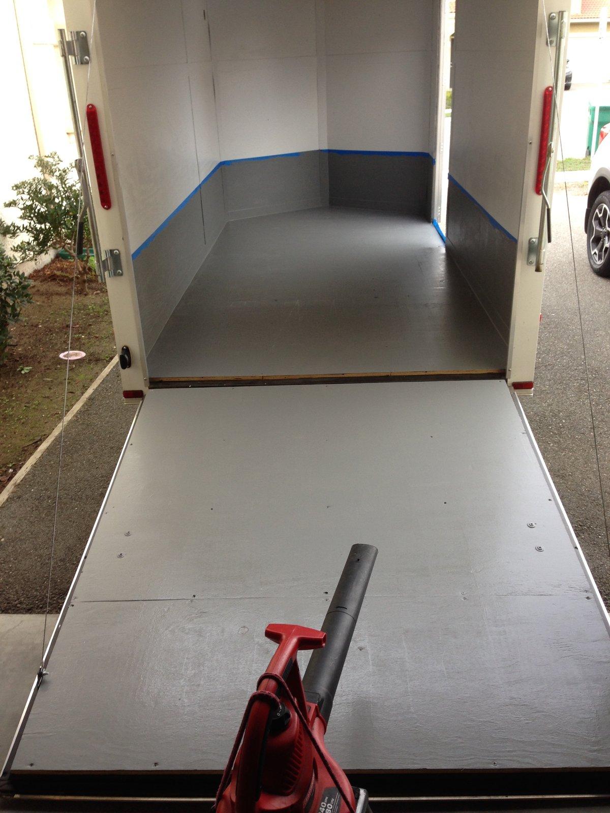 Enclosed Trailer Flooring