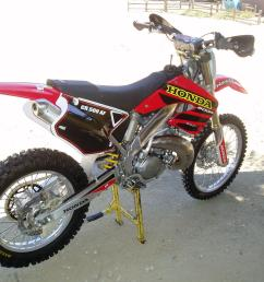 that s a nice build i did an af conversion about 6 years ago it also used a 2001 cr250 chassis [ 1600 x 1200 Pixel ]