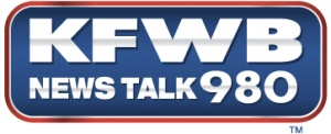 KFWB News Talk 980 logo