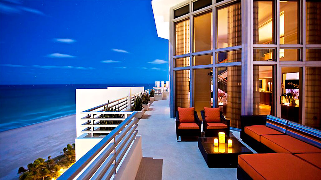 hotels in miami with kitchen rustic countertops best oceanfront beach south loews hotel