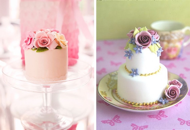 Tutorial For Easy Individual Mini Wedding Cakes