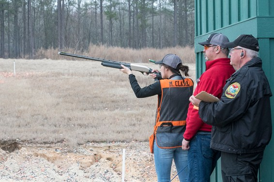 Team members can participate in any or all three of the clay target disciplines: trap, skeet and sporting clays.