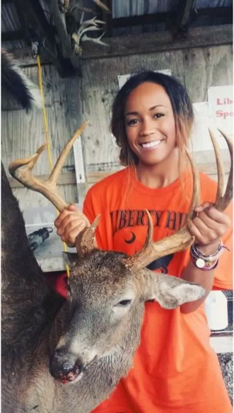 Anastasia and a 9 point she took in Summerton, SC