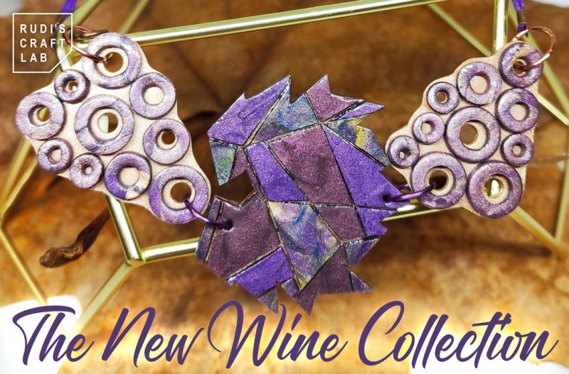 The Wine Collection Triple Pendant Necklace
