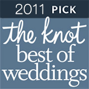 The Knot awarded B-Sharp Entertainment its Best Of Weddings Award in 2011