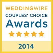 B-Sharp Entertainment is a winner of the 2014 WeddingWire Couples' Choice Award