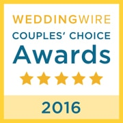 B-Sharp Entertainment is a winner of the WeddingWire Couples' Choice Award