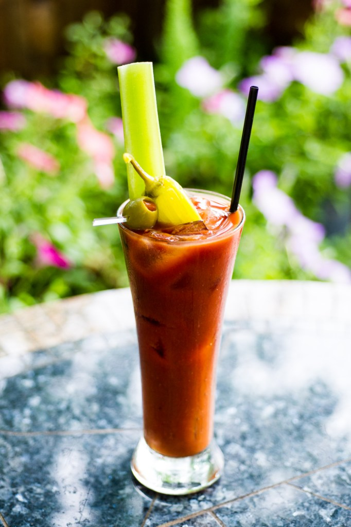 South Congress Cafes award winning Bloody Mary