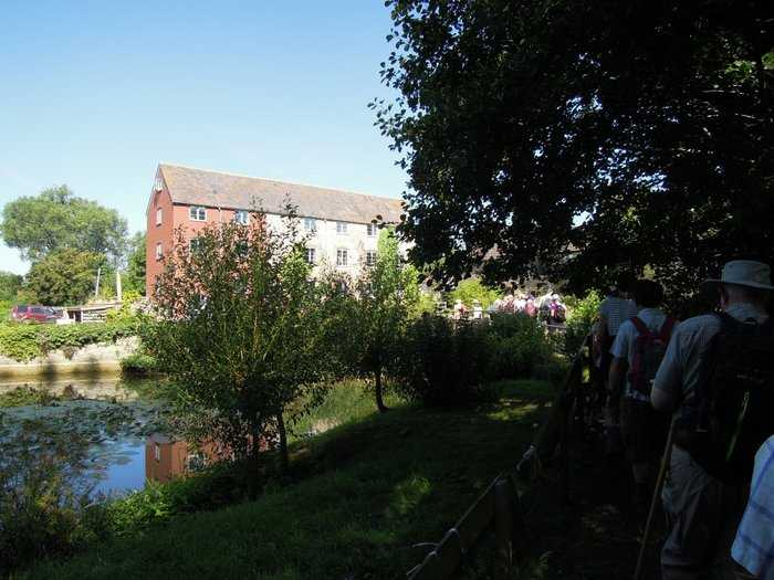 We arrive at Huntingford Mill