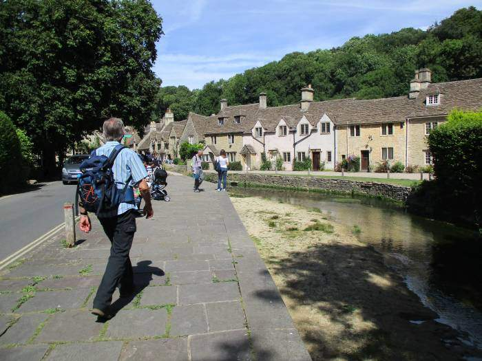 Not long after 2pm we return to Castle Combe village