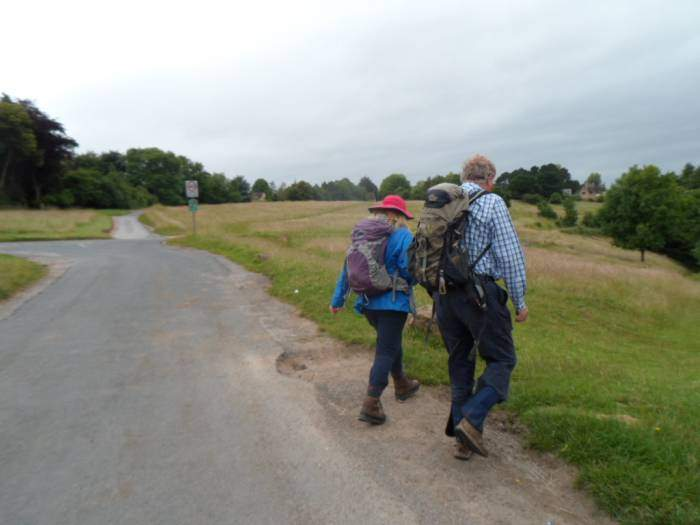 We set off across the common