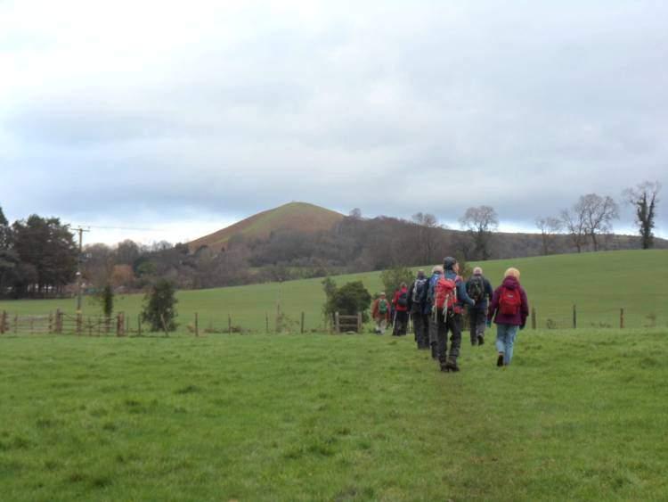 We head towards Cam Peak