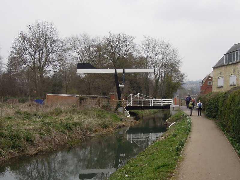 The new Lodgemore Lift Bridge