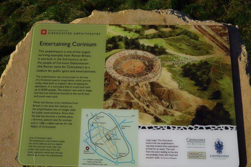 An information board tells us more about it