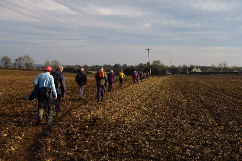 Before we head across fields to Whiteway