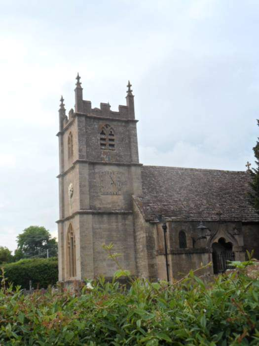 Great Witcombe church