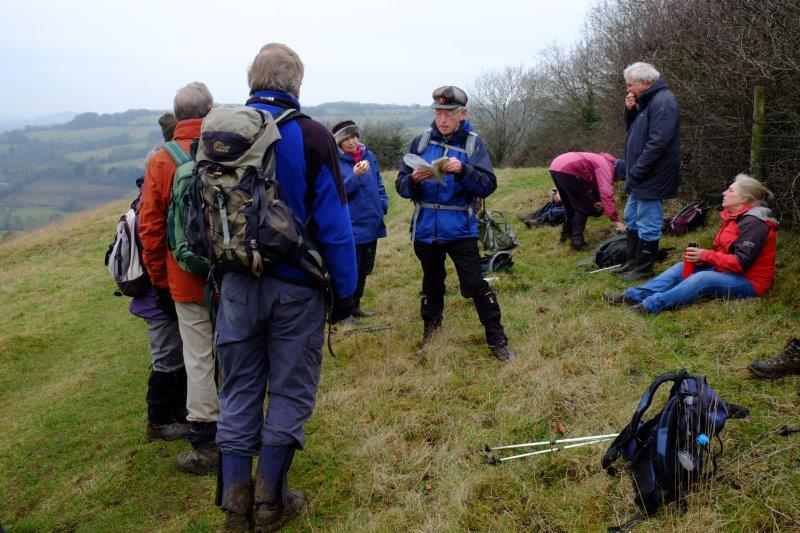 On to Swifts Hill and more words from Mike, including an extract from Cider with Rosie