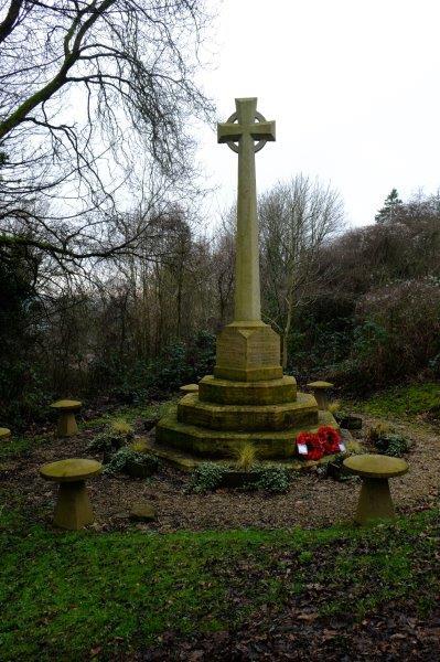 Past the War Memorial