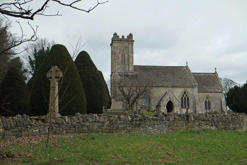 To Pitchcombe Church