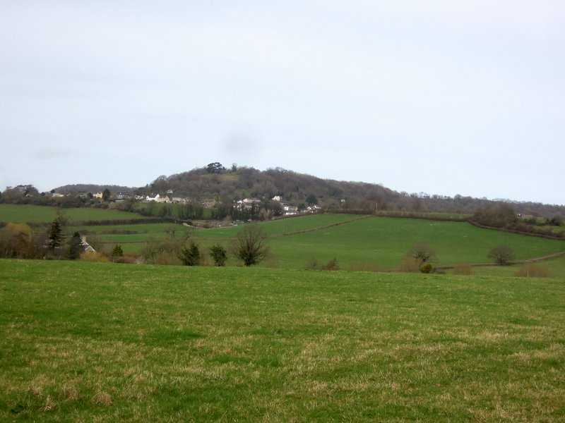Wotton hill in the distance