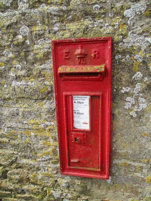 And an Edward VII post box