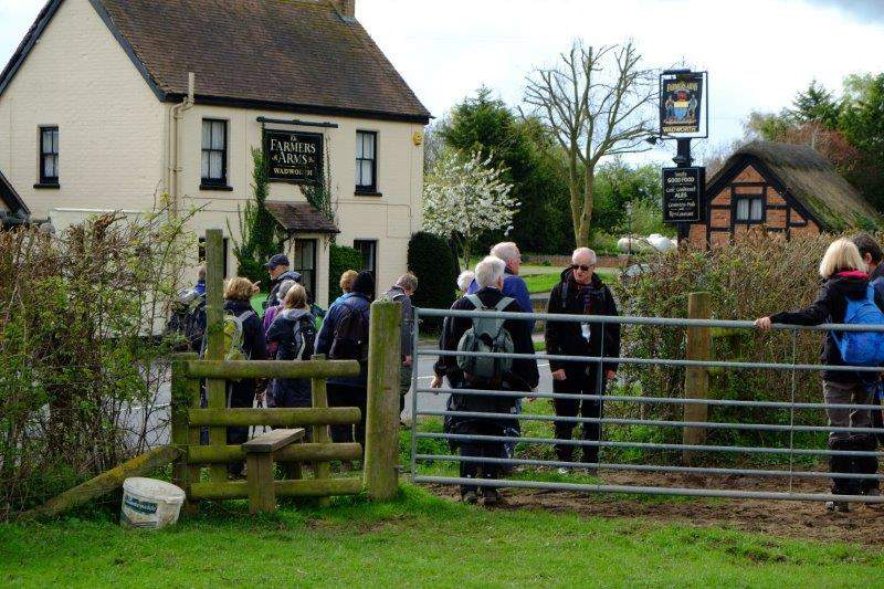 Farmers Arms not open yet