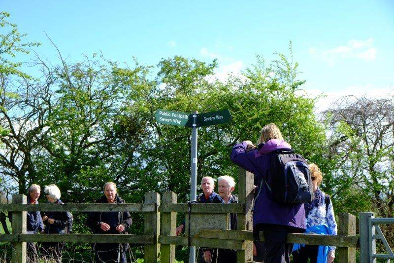 We are now going to follow the Severn Way