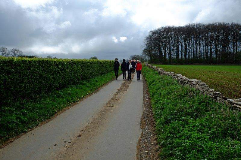 And down a lane towards the Sydenhams