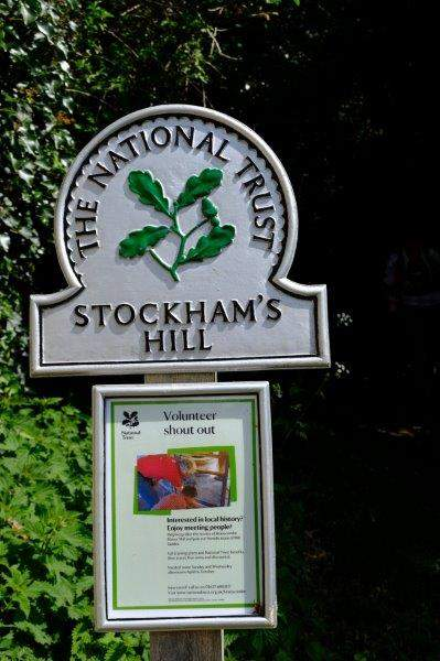 Now climbing up Stockham's Hill - note the apostrophe