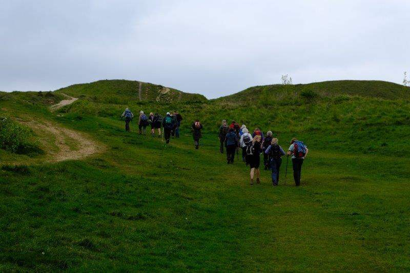 And up Painswick Beacon